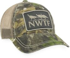 Mossy Oak Obsession NWTF Edition / Khaki Camo Mesh Back Cap