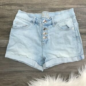 Justice 18 Light Denim Shorts