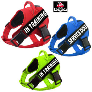 Service Dog Harness With Handle No Pull Reflective Training Puppy Pet Easy Vest