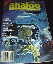 Science Fiction Analog Science Fact August 1987