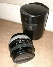 Canon FD Mount 28mm F/2.8 Wide Angle Lens Cosina Brand Minty