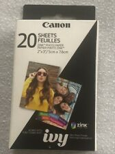 Canon Zink 2x3 Glossy Photo Paper - 20 Sheets