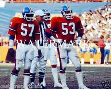 TOM JACKSON - RANDY GRADISHAR Denver Broncos Glossy 8 x 10 Photo Orange Crush