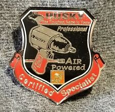 Lmh Pinback Pin Husky Air Powered Tools Professional Certified Home Depot