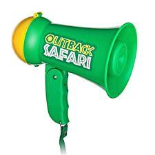 Play Kids Safari Outback MEGAFONO CON SUONO SIRENA ALTOPARLANTE-MICROFONO PALMARE giocattolo