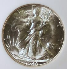 1946-D Silver Walking Liberty Half Dollar - NGC MS65