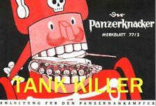 GERMAN MULTIMEDIA TANK KILLER DVD WEAPONS & TACTICS VIDEO & MANUALS  WW2 NEW