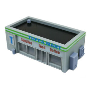 Outland Models Railway Scenery Convenience Store & Accessories 1:220 Z Scale