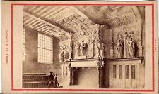 CDV Foto Cheminée du Franc - Bruges 1870er