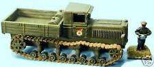 SHQ RV26 1/76 Diecast WWII Russian KhPZ Komintern, Med Full Tracked Gun Tractor