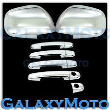 03-09 Toyota 4 Runner Triple Chrome Plated Mirror+4 Door Handle Cover