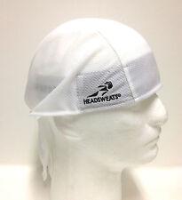 CLASSIC WHITE HEADSWEATS COOLMAX BANDANA DEW WRAP RAG NEW