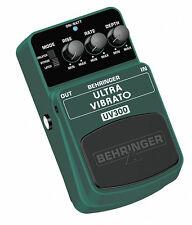 Behringer UV300 ULTRA VIBRATO PEDALE per chitarra stomp box
