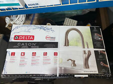Delta Cason 1 Handle Pull-Down Kitchen Faucet w/ Soap Dispenser 19782Z-SPSD-DST
