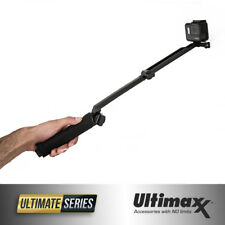 GoPro 3-Way Selfie Stick Hand Grip Flexible Tripod Extension Arm Monopod - New!