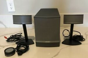 Bose Companion 5 Multimedia Speaker System Subwoofer Stand & Volume Pod