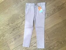 Girls Skinny Jeans Pale Pink age 4-5 years new