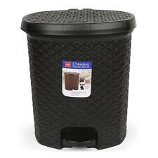 Cello High Grade Plastic Pedal Dustbin Strong And Durable Body 6 Liters