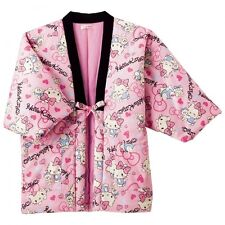 Hello Kitty HANTEN Japanese Traditional Kimono Jacket Coat Sanrio Japan B3461