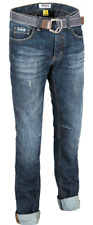 PMJ LEGEND CAFE RACER BLUE CASUAL MOTORCYCLE JEANS 30