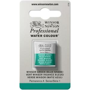 Winsor & Newton Professional Watercolour Paint Half Pan Colours