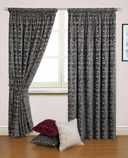 Chenille Home Office/Study Traditional Curtains & Blinds