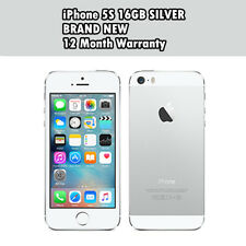 Apple iPhone 5s 16gb Silver Unlocked Factory Smartphone SIM
