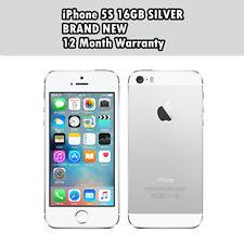 Brand New Apple iPhone 5S 16gb Silver Unlocked Factory Smartphone Sim Free