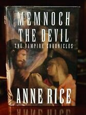ANNE RICE MEMNOCH THE DEVIL ✏️Signed ✏️1st Ed/Prt 1995