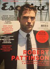Esquire Magazine UK (September 2014) Robert Pattinson - NEW