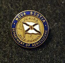 department of agriculture nova scotia junior member pin