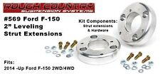 "Rough Country 2"" Leveling Kit fits 2014 Ford F150 2/4WD Pickups #569"