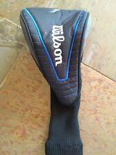 Euc Wilson 7 Wood Golf Club Headcover Head Cover Black And Blue