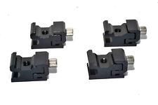 4 X Adjustable Speedlite Cold Shoe 1/4 Screw to Flash Hot Shoe Mount Adapter