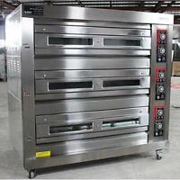 3 deck oven