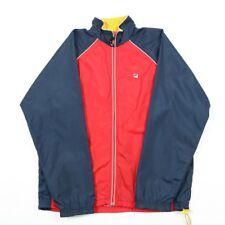 Vintage FILA Colour Block Windbreaker Jacket | Mens M | Track Tracksuit Retro