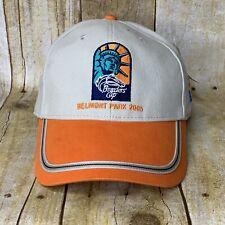 Belmont Park 2005 Breeders Cup Hat Cap NTRA All Pro Tan Orange