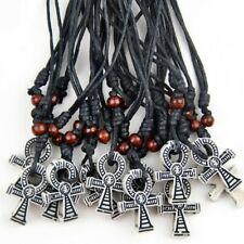 Lot 12pcs Cool Ancient Egyptian Cross Ankh Pendants necklace