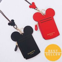 Card Holder Mini Mickey Mouse Ears Case Cover Passport ID Wallet Fashion Style