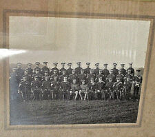 Rare WW1 Large Wooden Framed Photograph Of The Lincolnshire Yeomanry 1914