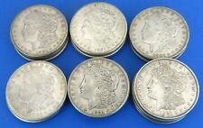 (20) 1921 Morgan Dollars F - AU 90% Silver $1 US Coin Lot Mixed Mint