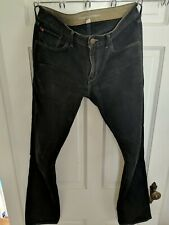 Men's Banana Republic Vintage Straight Jeans 30 x 32 blue black v good condition