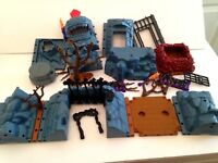 24 Pc Fisher Price Imaginext Castle Dragon Keep 2003 Set Parts Discontinued   1L