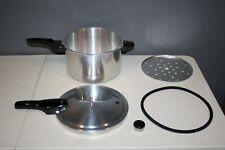 Presto 8-Quart Pressure Cooker Canner Aluminum Silver 409A