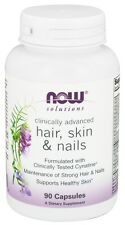 Now Foods Solutions, Clinically Advanced Hair, Skin & Nails, 90 Capsules