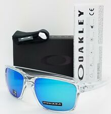 NEW Oakley Sliver sunglasses Clear Prizm Sapphire Iridium 9262-47 AUTHENTIC 9262