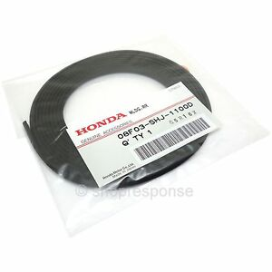 OEM Honda Front/Rear Lip Spoiler Rubber Molding Strip Trim Black 08F03-SHJ-1100D