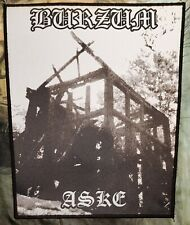 1Burzum - Aske -  printed backpatch - FREE SHIPPING !!!
