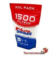 Filtri SuperDiscount Slim 6 mm Bag XXL 1500 filtri