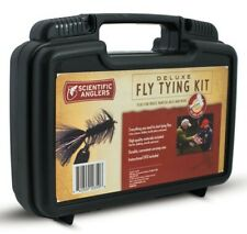 SCIENTIFIC ANGLERS DELUXE FLY TYING KIT - INCLUDES VISE, TOOLS & BASIC MATERIALS